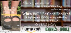 Barbara Ann Jaffe When Will I Be Good Enough Book Ad